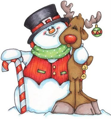 Fotos de dibujos de navidad con color